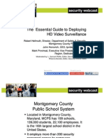 The Essential Guide to Deploying HD Video Surveillance Webcast