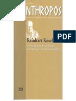Reinhart Koselleck (Huellas) (Spanish Ed - Anthropos Huellas Del Conocimiento