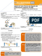 Protocolo Mensajeria TS SIE Simulacro II V4