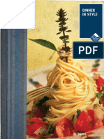 "Dinner in Style Recipes (Read in ""Fullscreen"")"