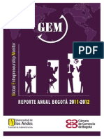Informe GEM Bogotá 2011-2012