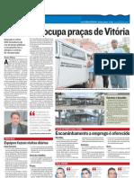 Prefeitura Ocupa Pracas de Vitoria