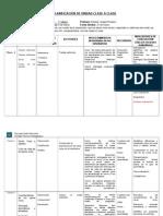 Planificación por unidades clase a clase  8 CLASES LISTAS