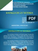 Diapositivas Batalla de La Victoria