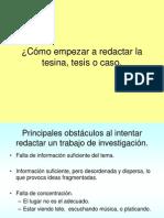 5++Cómo+empezar+a+redactar+la+tesina,+tesis+o+caso.