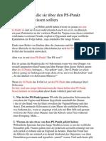P5 Dinge die sie über den PS-Punkt                       wissen sollten S-spot1