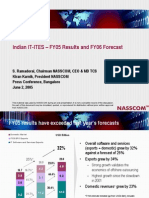 Indian IT ITES  FY05 Results FY06 Forecast