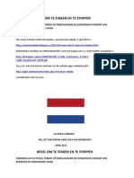 Bevel aan Nederlandse Bankiers om te Staken en te Stoppen ( Nederlandse vertaling van