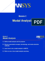 ANSYS Modal Analysis