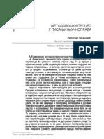 03. Metodoloski Proces u Pisanju Naucnog Rada, Gacinovic R.