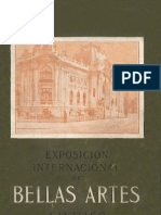 Exposición internacional de Bellas Artes Santiago 1910