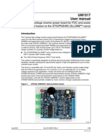 ST Micro User Manual - 3 Phase Inverter Based on STGIPN3H60