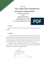 RELATORIO LEI ENERGIA MECANICA SUÉLEN