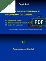 Cap 8 Investimentos