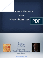 Creative People and High Sensitivity