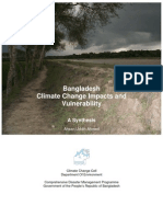 Bangladesh Climate Change Impacts and Vulnerability