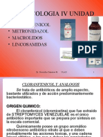 Cloranfenicol y Metronidazol