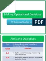 operational decisions l2