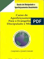 Curso de Aperfeiçoamento Para o Evangelismo, Discipulado e Missões