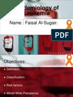 Epidemiology of Leukemia in Saudi Arabia