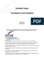 1-Istqb Foundation Level Syllabus 2011 mMm (1)