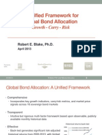 Global Bond Allocation Model April