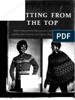 Knitting From the Top (Chapter 1) - Barbara Walker