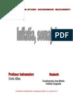 Inflatia Si Somajul