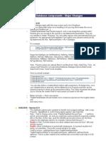SQLite Pass - Major Changes