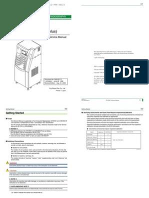 Fuji FCR 5000 Service Manual | Laser | Manufactured Goods