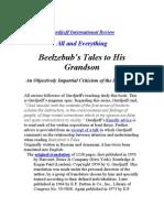 Beelzebub Tales to His Grandson