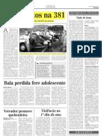 2000.01.02 - Três mortos na 381- Estado de Minas