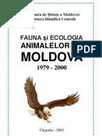 Fauna şi ecologia animalelor din Moldova