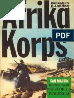 San Martin Libro Campaña 01 Afrika Korps