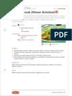 Becki Odrezak Wiener Schnitzel