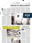 2000.08.30 - Colisão de van com caminhão mata quatro pessoas na 381 - Estado de Minas