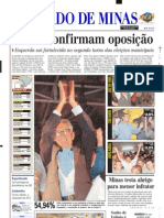 2000.10.30 - Estrada Fatal - Estado de Minas - Capa