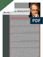 Recherche Sur A Maalouf