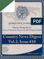 CERES News Digest - Week10, Vol.2, April 1-April 5