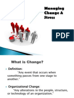 Managing Change & Stress