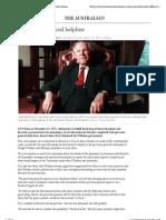 John Kerr's Judicial Helpline