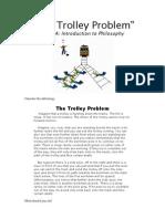 Trolley Problem-PHIL 1A