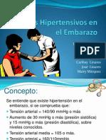 Estados Hipertensivos en El Embarazo