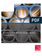 Rating u s Rmbs Servicing Advance Transactions