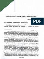 As Garantias Das Obrigacoes e o Imposto de Selo Bruno Vinga Santiago