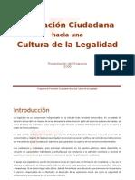 Presentación del Programa -- Cultura de la Legalidad_2