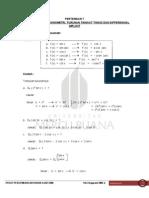 Soal Dan Jawaban Turunan Trigonometri
