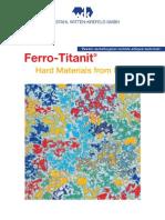 Ferro-Titanet e Datenbl Titel