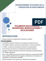 POLIMEROS BACTERIANOS