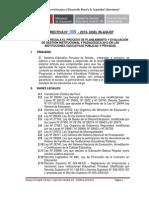Directiva Final Ugel 06 -2013